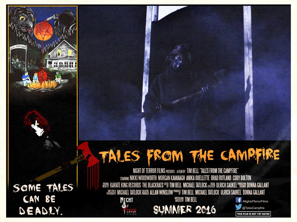 Tales from the Campfire Lobby Card 6 - Tales from the Campfire Unveils Two Retro-Flavored Trailers