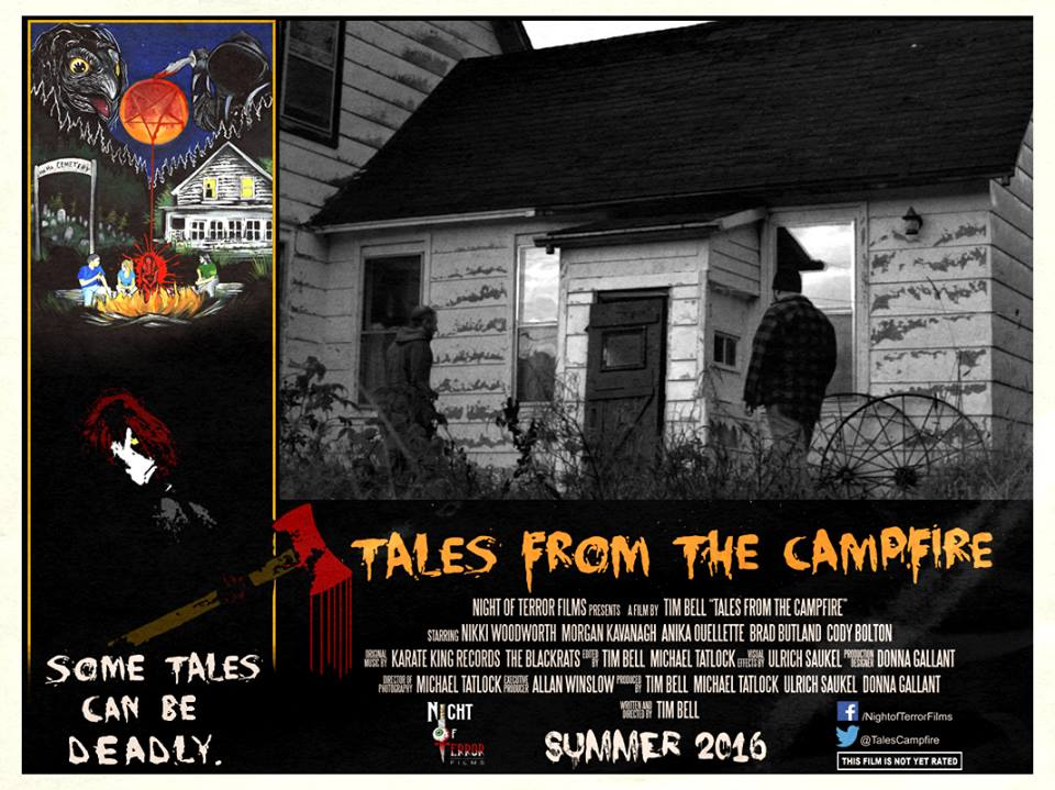 Tales from the Campfire Lobby Card 8 - Tales from the Campfire Unveils Two Retro-Flavored Trailers