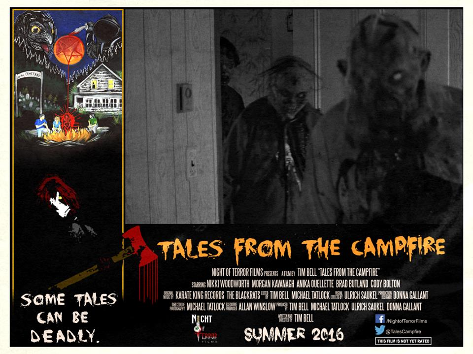Tales from the Campfire Lobby Card 9 - Tales from the Campfire Unveils Two Retro-Flavored Trailers