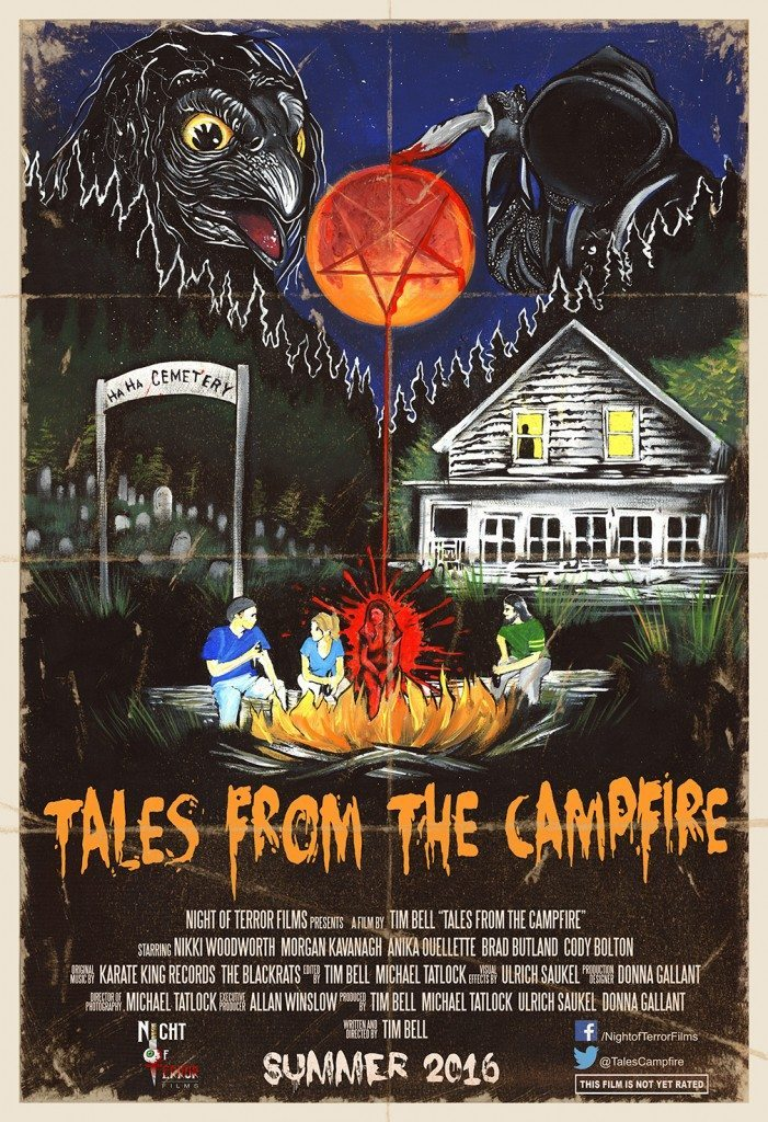 Tales from the Campfire Poster 701x1024 - Tales from the Campfire Unveils Two Retro-Flavored Trailers