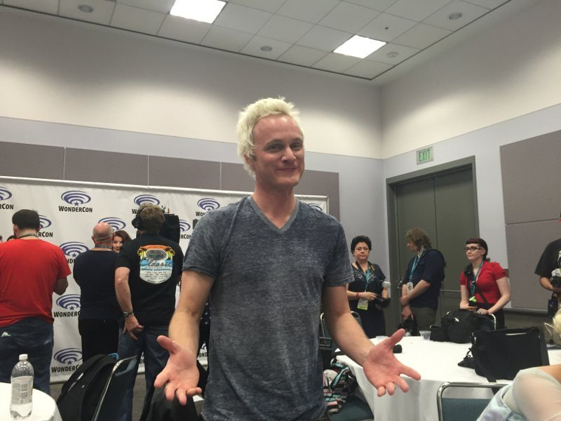 david anders - WonderCon 2016: iZombie with Rob Thomas and Friends!
