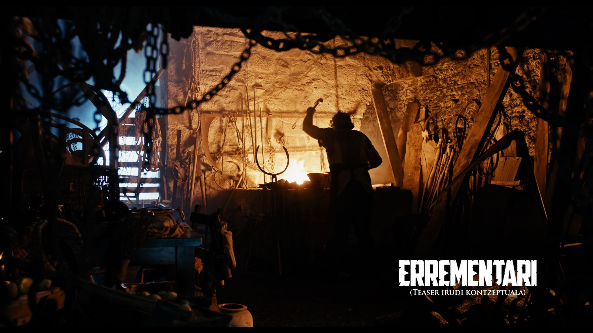 foto teaser conceptual Eusk - Paul Urkijo's Errementari (The Blacksmith and the Devil) Selected for Frontières@Brussels 2016