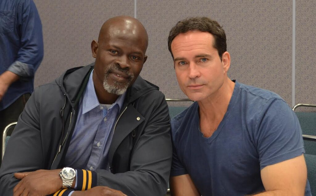 Jason Patric and Djimon Hounsou