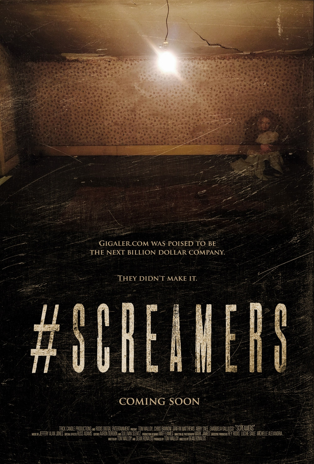 screamers - First Look Trailer, Poster, Stills, and Word on #SCREAMERS