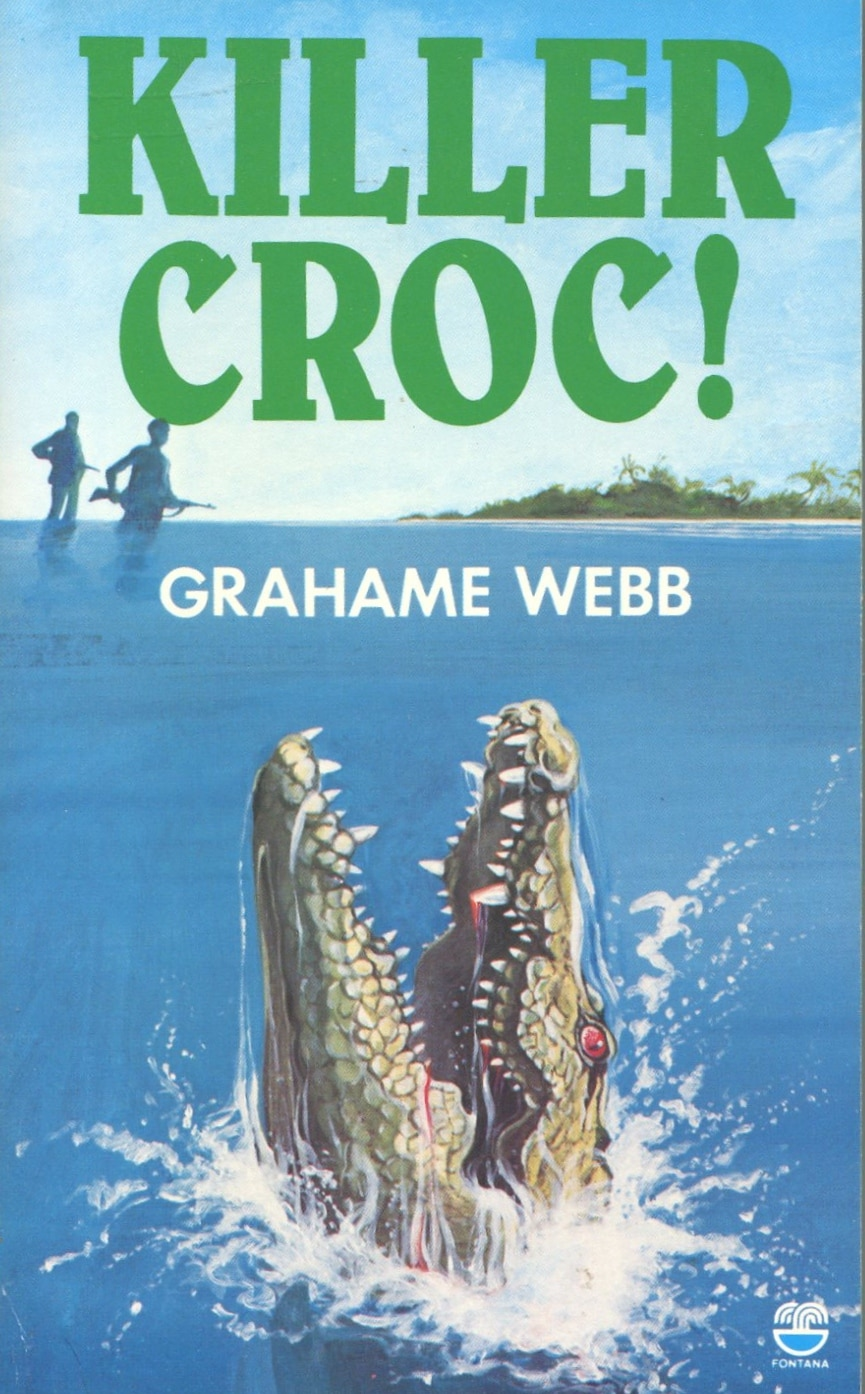 197 Grahame Webb Killer Croc! Fontana Books 080