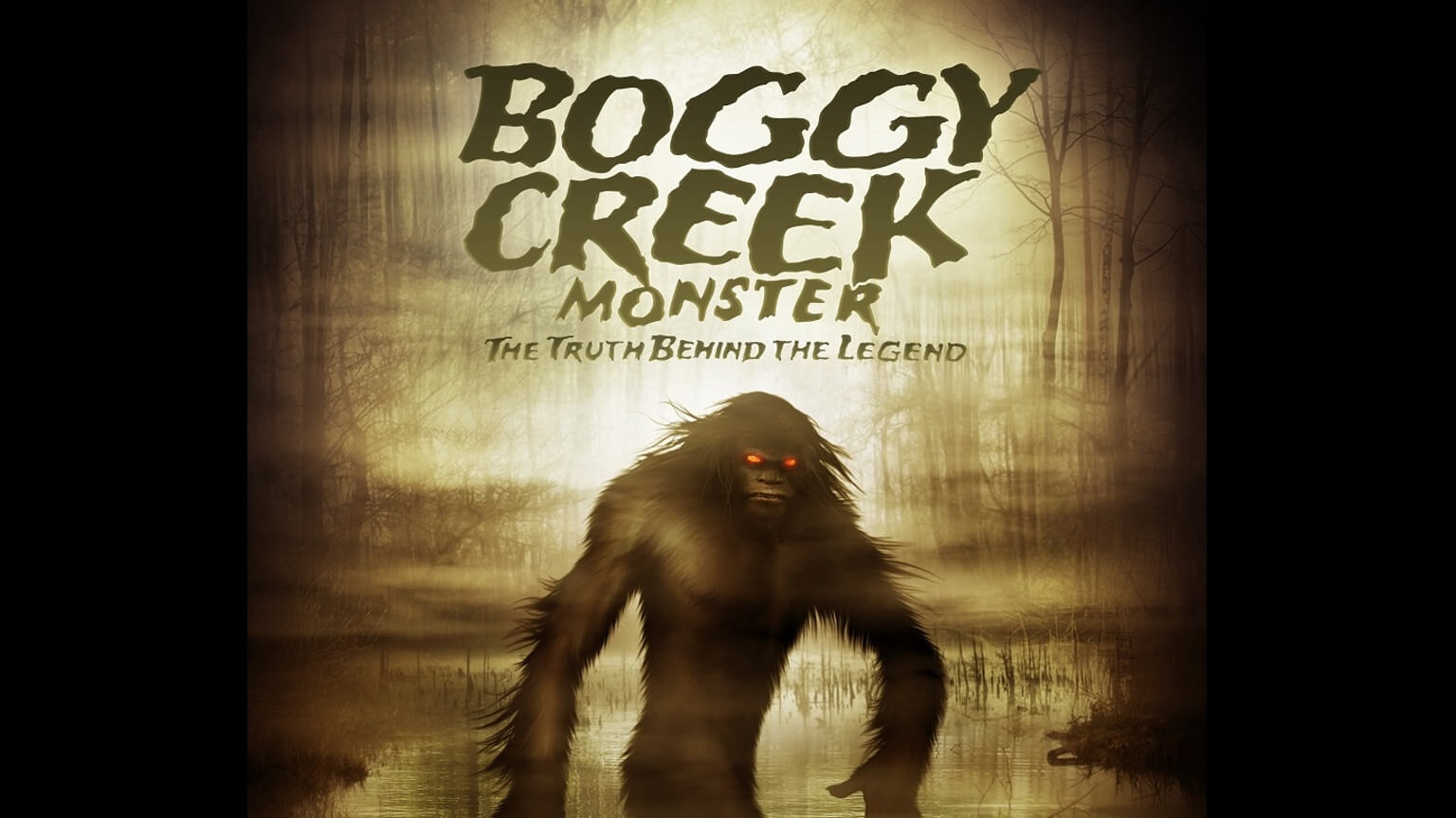 Boggy Creek mnster documentary 1 - Boggy Creek Monster Stomps Around First Trailer