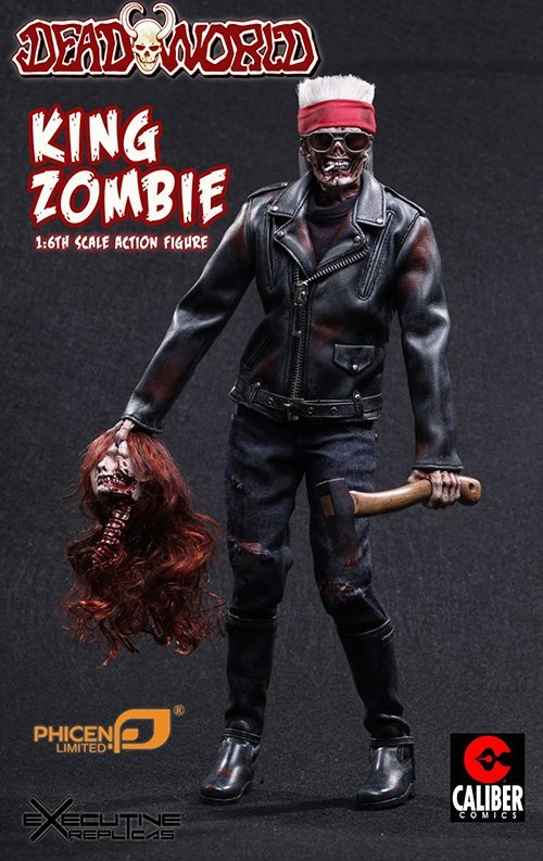 King Zombie Action Figure - Deadworld's King Zombie Action Figure Arriving Soon