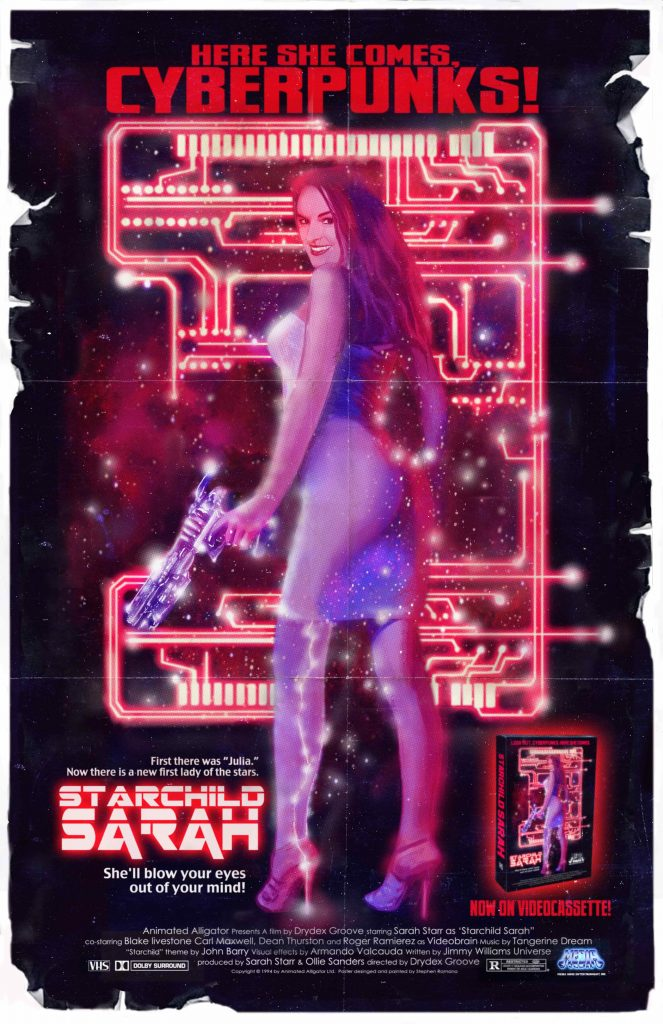 STARCHILD SARAH 663x1024 - Julia Starchild: The Past and the Future and the Importance of STAR WARS