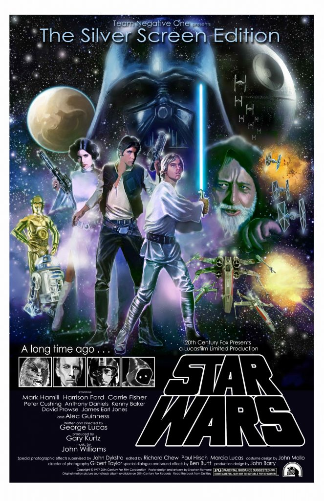 STAR WARS TEAM NEGATIVE ONE POSTER 663x1024 - Julia Starchild: The Past and the Future and the Importance of STAR WARS