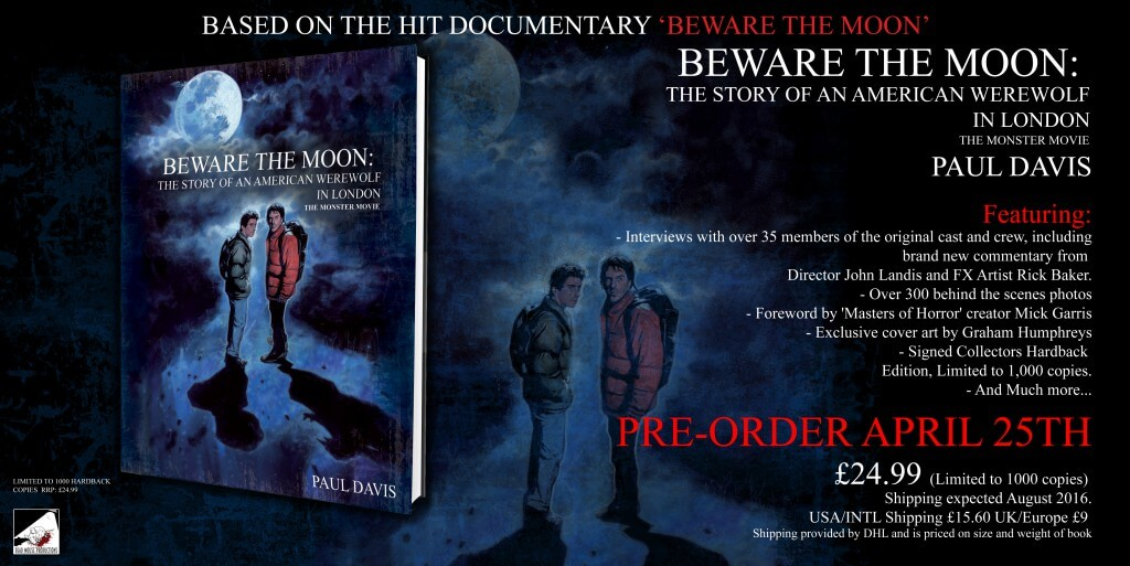 beware the moon 1 - An American Werewolf in London Getting a Making-of Book Called Beware the Moon