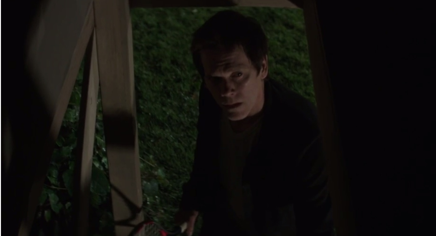 darkness bacon - The Darkness - Kevin Bacon Investigates Spooky Treehouse in New Clip