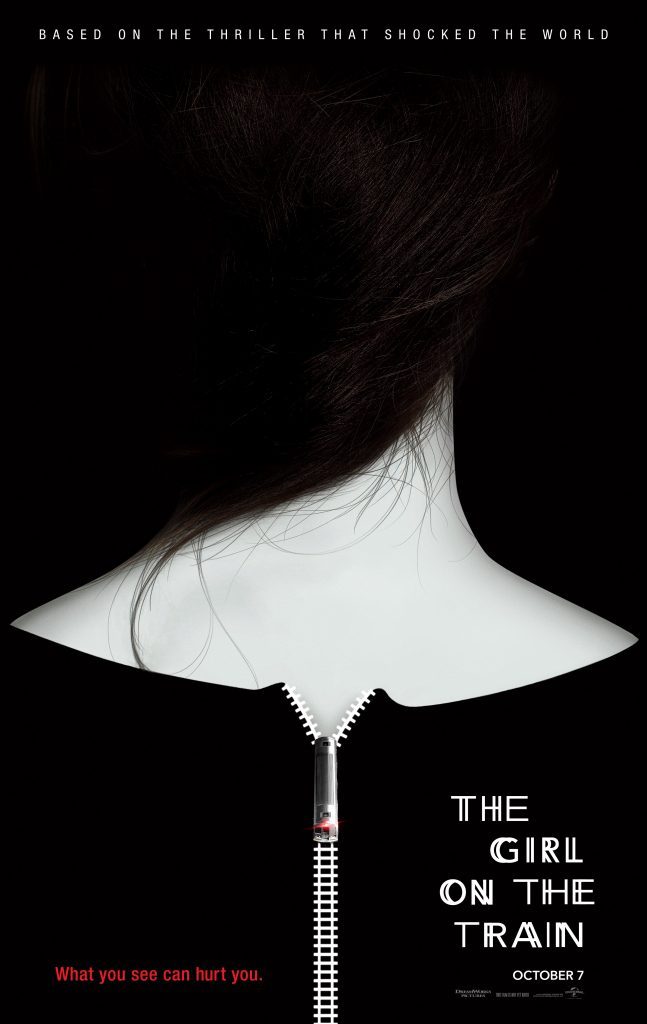 girl on train poster 647x1024 - Trailer, Images, and Poster Art Introduce The Girl on the Train