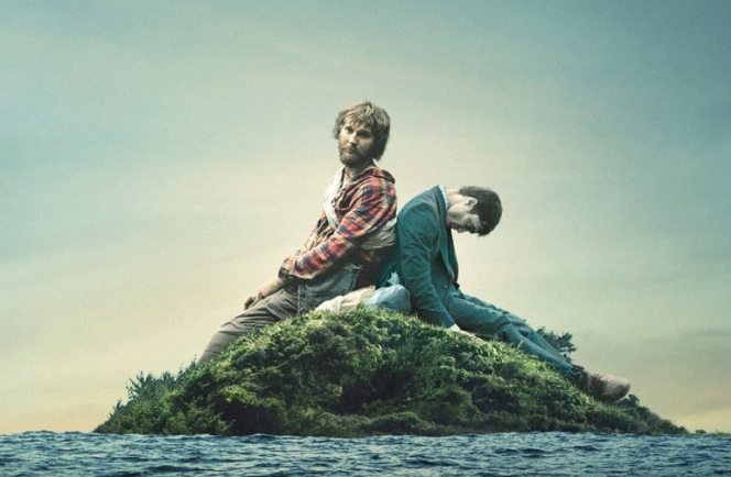 swiss army man art - Swiss Army Man Washes Ashore on Blu-ray and DVD