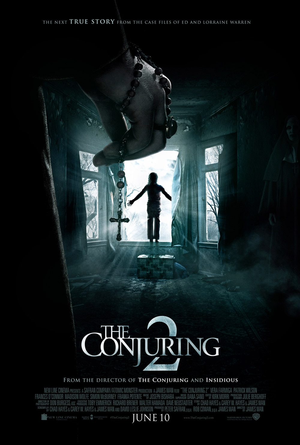 the conjuring 2 - The Conjuring - Video Interviews With Vera Farmiga, Patrick Wilson, James Wan and More!