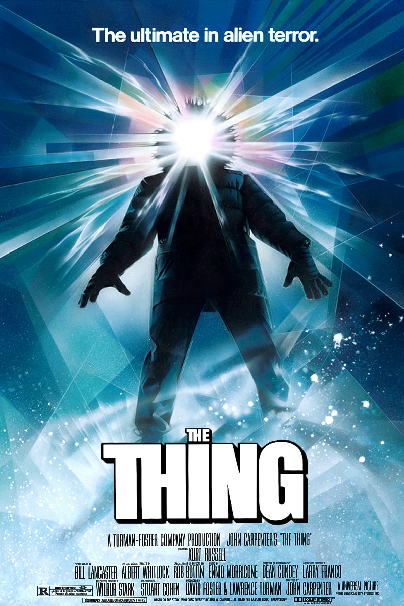 The Thing Poster - Arrow Restoring John Carpenter's The Thing to 4K!