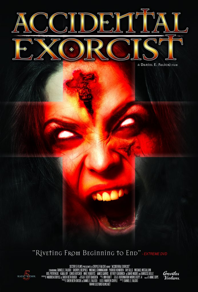 accidental exorcist 693x1024 - Trailer Possesses an Accidental Exorcist
