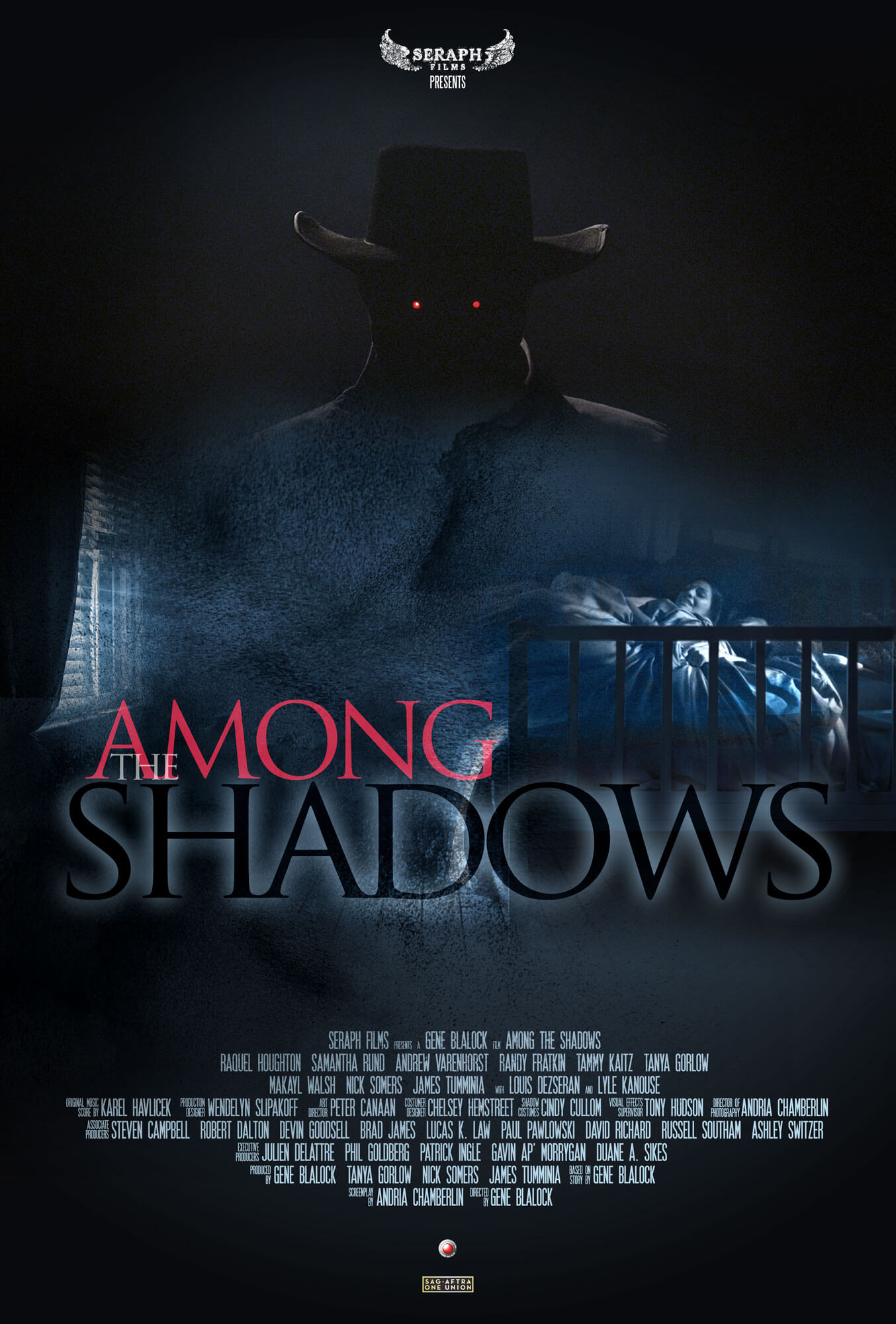 among shadows poster 2 - Exclusive: Director Gene Blalock Talks Among the Shadows; Watch It Here!