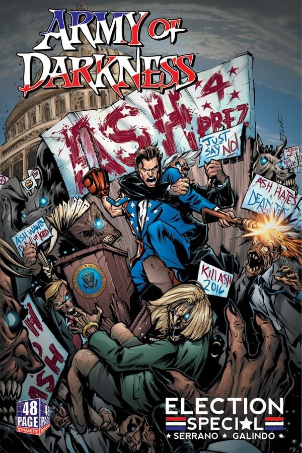 amry of darkness ocmic 1 - Dynamite Entertainment Announces New Evil Ernie and Army of Darkness Series