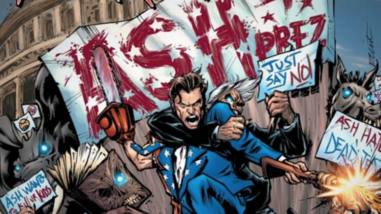 army of darkness comic 750x422 - Dynamite Entertainment Announces New Evil Ernie and Army of Darkness Series