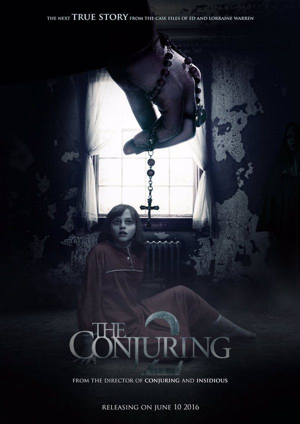 conjuring 2 poster - The Conjuring - Video Interviews With Vera Farmiga, Patrick Wilson, James Wan and More!
