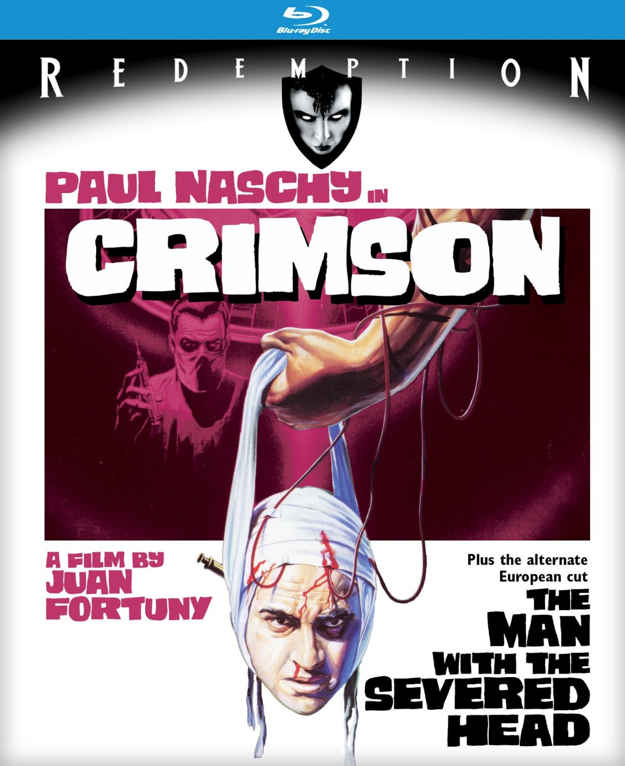 crimson - Paul Naschy's Severed Head Leaves Crimson Stains on Kino Lorber