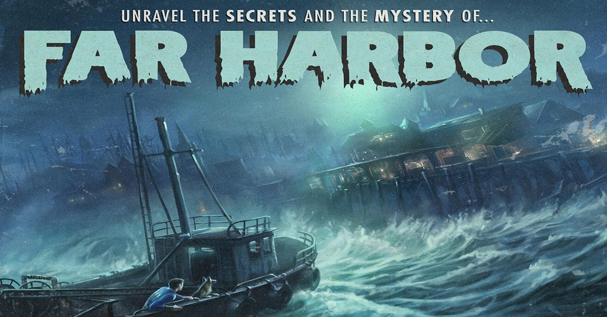fallout 4 Far Harbor 1 - Fallout 4: Far Harbor (Video Game DLC)