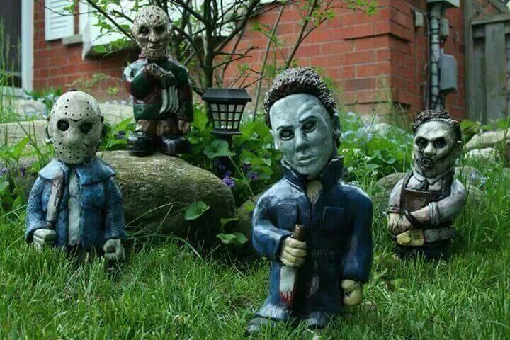 Iconic Horror Lawn Gnomes Will Murder Any Burglars on Your
