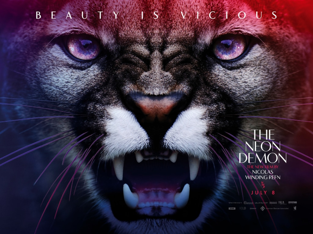 neon demon new poster - Get Possessed by a UK TV Spot for The Neon Demon
