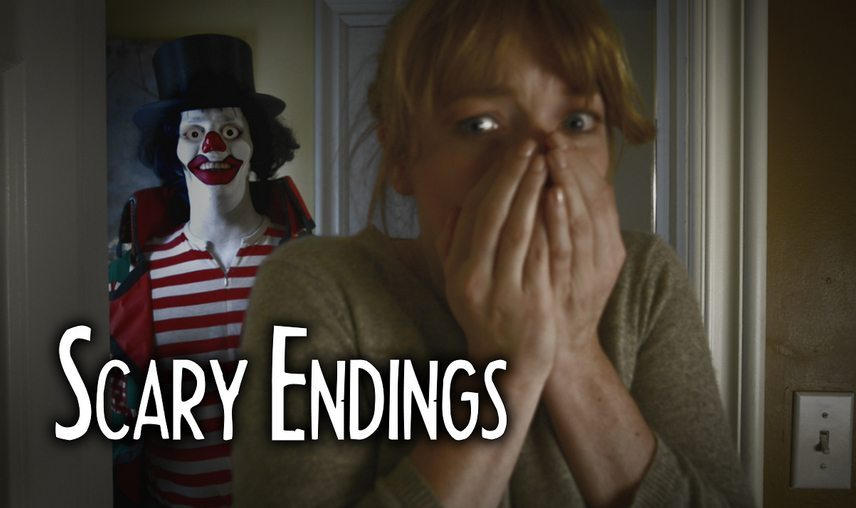 scaryendings clown - Scary Endings Welcomes You to the Circus in Series' Season 1 Finale