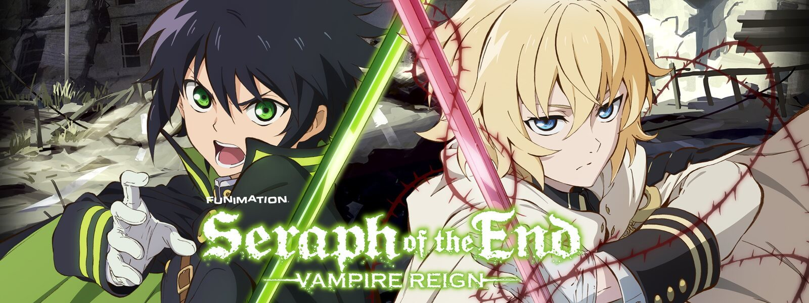 spearph of the end 1 - Seraph of the End Humans vs. Vamps Anime Now Available on Home Media