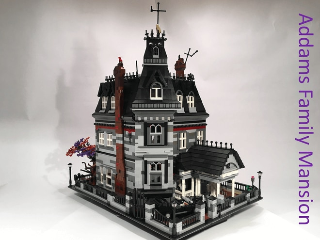 the addams family lego1 1 - The Addams Family Mansion Lego Set Gains Enough Support for Review Phase