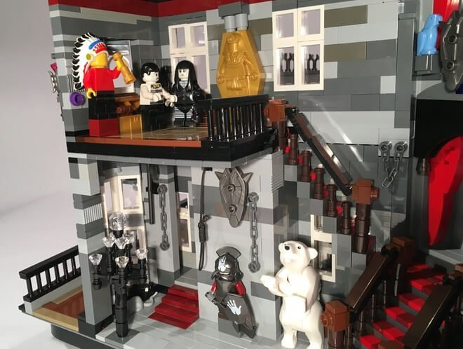 Help The Addams Family Mansion Lego Set Hit Shelves