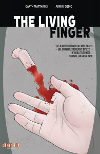 the living finger2 1 195x300 - Living Finger, The - Issue #1 (Comic)