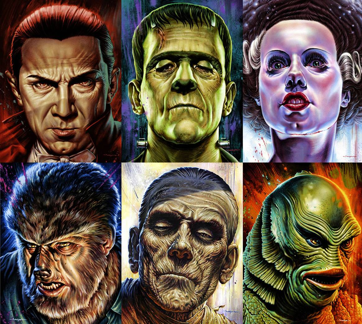 universal monsters - Shudder Scares Up the Universal Monsters