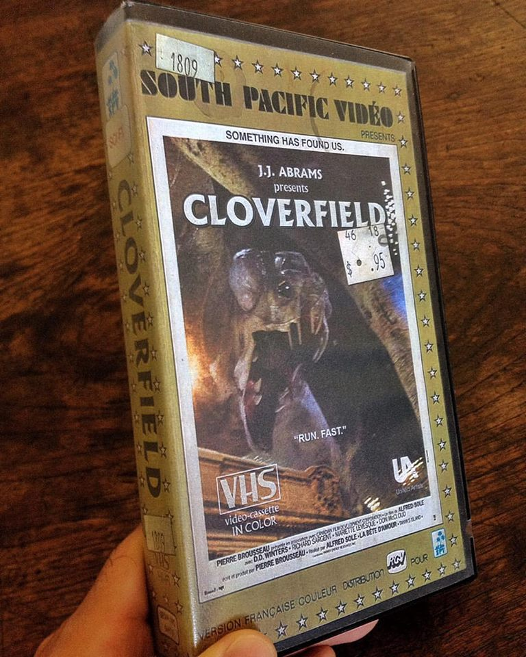 vhs cloverfield - Artist Makes Vintage VHS Boxes for Current Horror Movies
