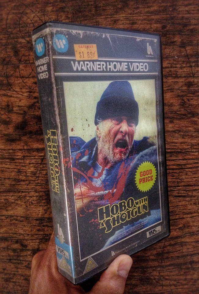 vhs hobo - Artist Makes Vintage VHS Boxes for Current Horror Movies