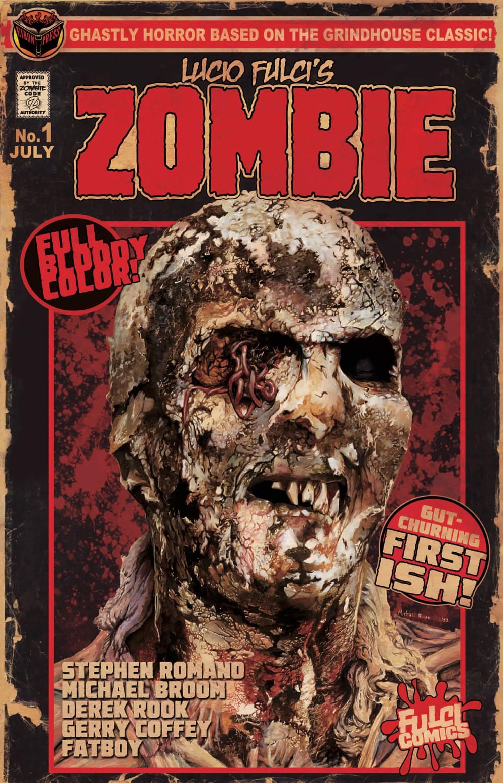 zombie cover - Eibon Press' Lucio Fulci's Zombie Sells Completely Out in Less Than 24 Hours; Reprint Coming When?