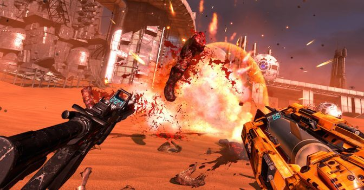 Serious Sam VR The Last Hope 2 - E3 2016: Prepare for Alien-Blasting Gore with Serious Sam VR: The Last Hope