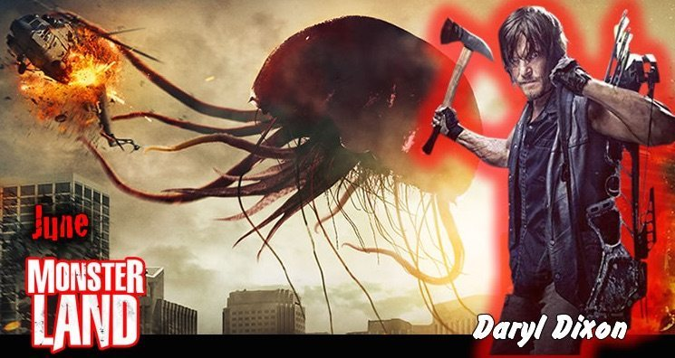 Daryl Dixon Joins Monsterland In June 2016 Box Of Dread