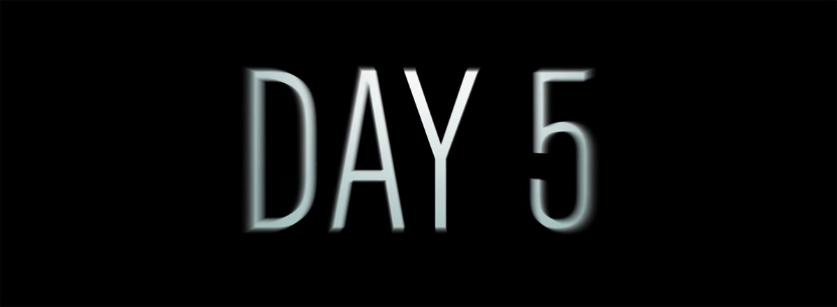 day5 - Trailer, Stills, and More about Apocalyptic Thriller Day 5 from Rooster Teeth