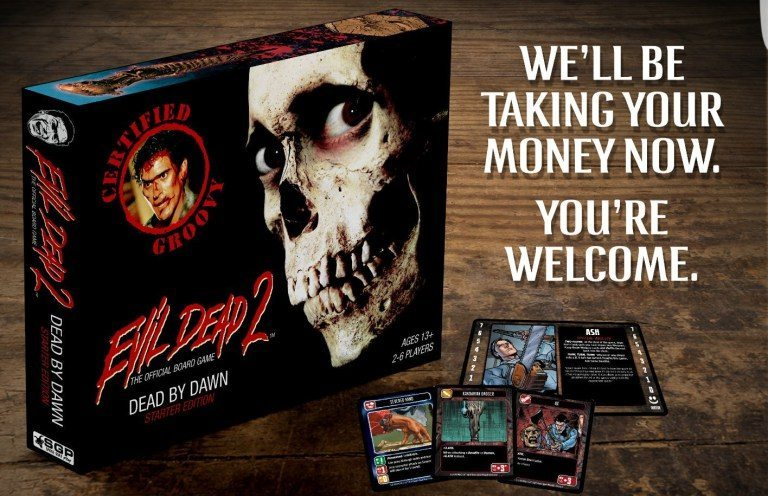 evil dead board game - Evil Dead 2 Getting a Groovy New Board Game