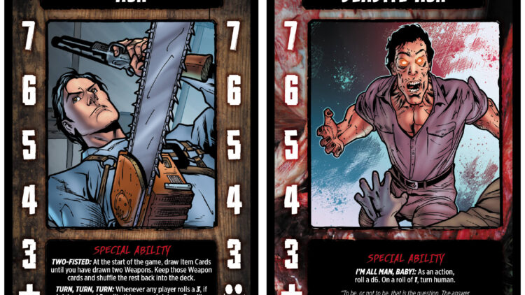 evil dead boardgame 1 750x422 - New Images from the Evil Dead 2 Board Game