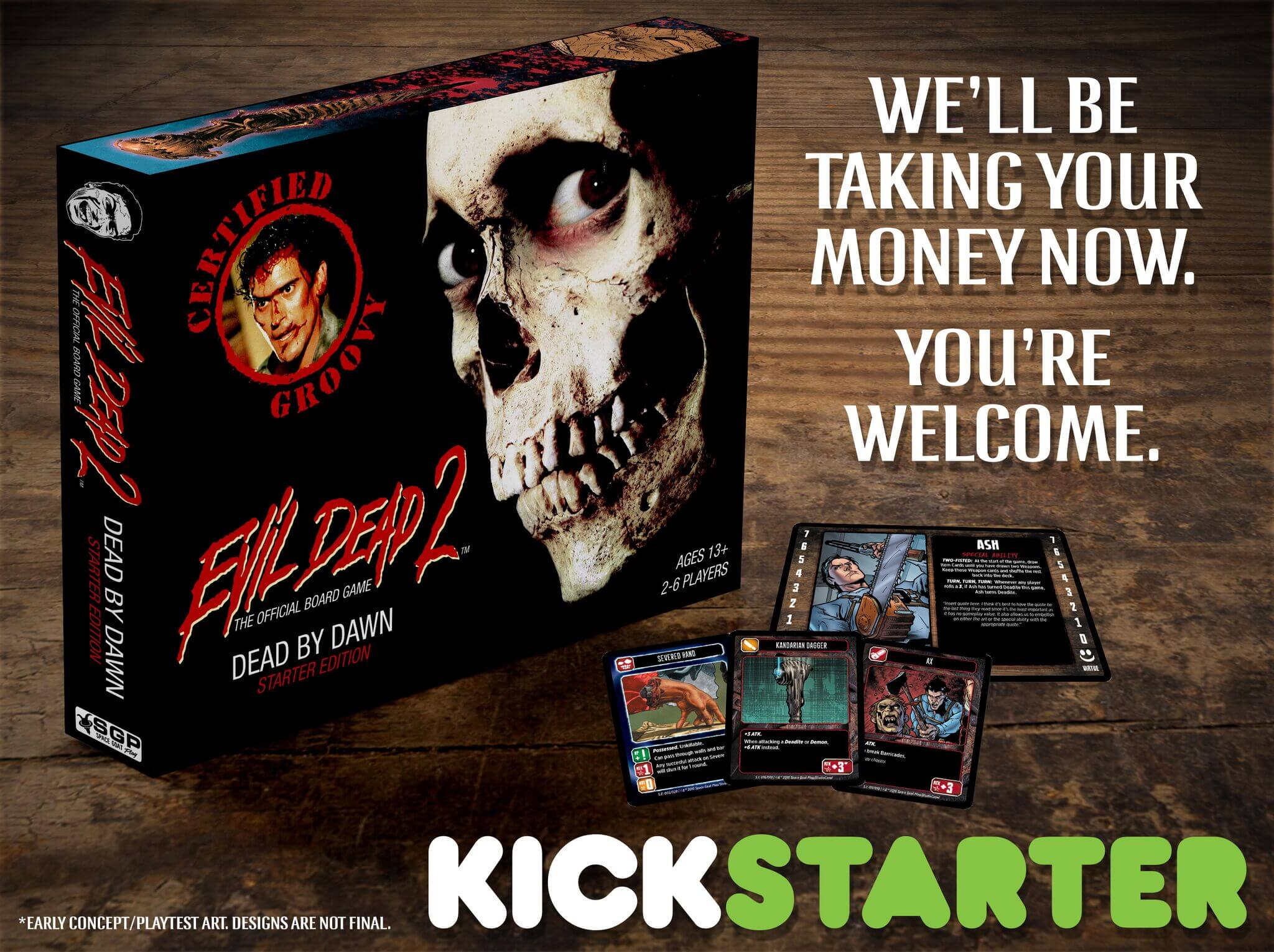 evil dead boardgame6 1 - New Images from the Evil Dead 2 Board Game