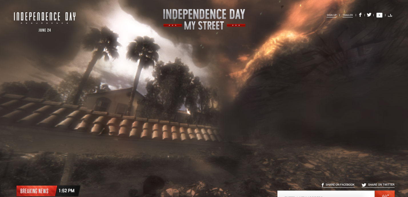 id4 street - Destroy Your Home With Independence Day My Street