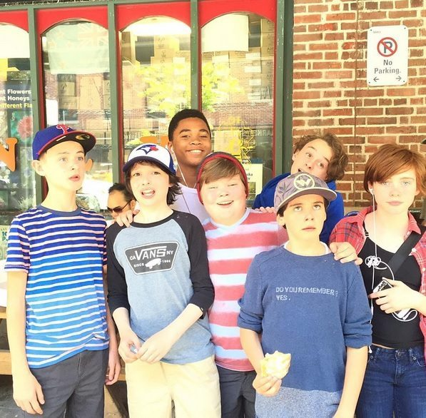 losers club - Stephen King's It - First Image of The Losers' Club and Nicholas Hamilton Joins Cast