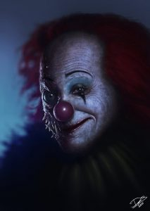my version of pennywise by disse86 d8d2pfi 213x300 - DC's The Devil's Muse: Artist Spotlight – Dennis Carlsson