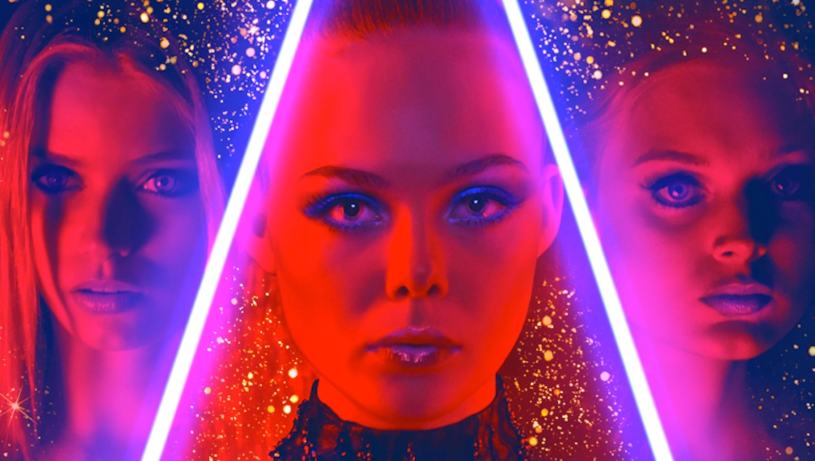 neon demon poster - The Neon Demon - New Poster Is So Bright You'll Need Shades