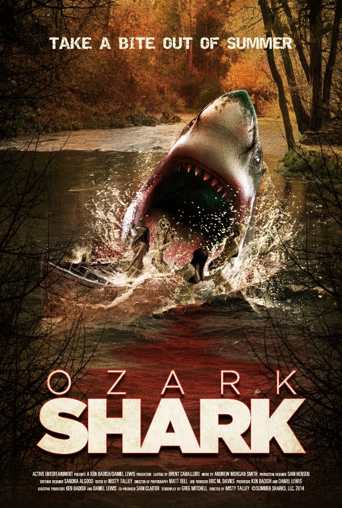 ozark shark poster 1 - Take a Bite Out of Summer with Syfy's Ozark Shark