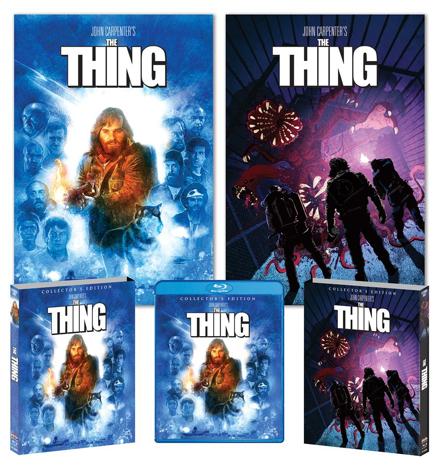 thing blu 2 - Scream Factory Details Definitive Blu-ray Release of The Thing
