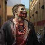 zombie 1 150x150 - Exclusive Videos and Photos: Dread Central Ventures into Universal Studios' The Walking Dead Maze